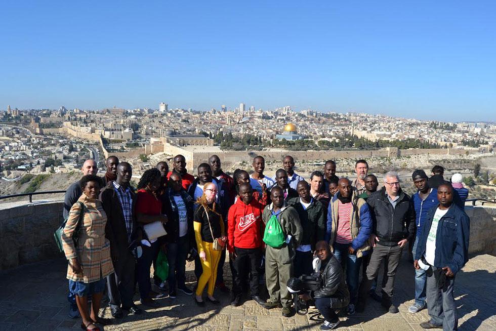 עובדי חברת גלולי בירושלים