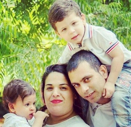 משפחת חזק (צילום: אלבום פרטי)