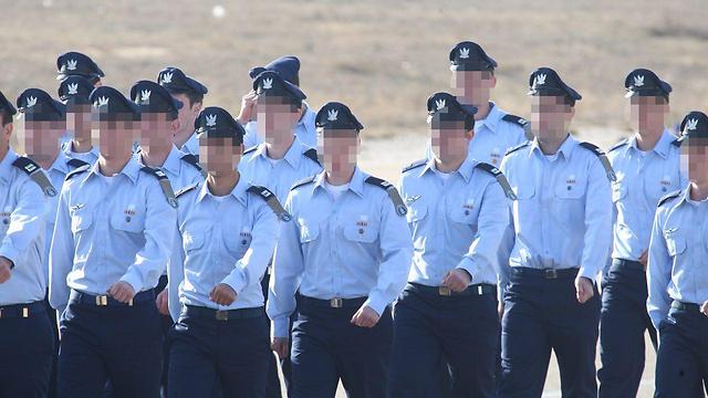 The new pilots (Photo: Motti Kimchi)
