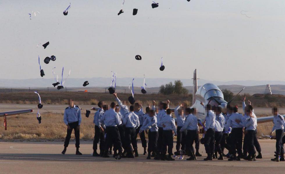 IAF's new pilots (Photo: Motti Kimchi)
