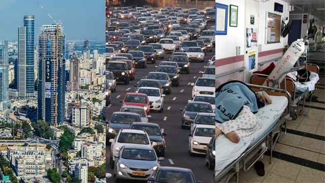 A worrying future for Israel (Photos: Shutterstock, Motti Kimchi & Roee Idan) (Photos: Shutterstock, Motti Kimchi & Roee Idan)