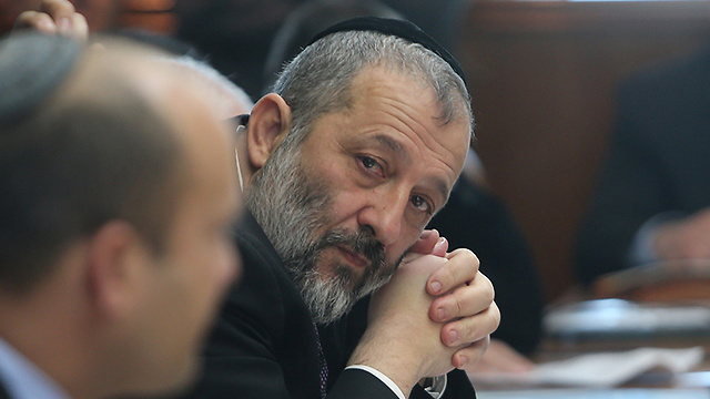 Minister of the Interior Aryeh Deri (Photo: Alex Kolomoisky) (Photo: Alex Kolomoisky)