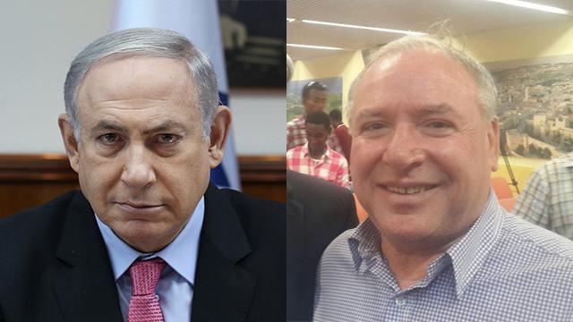 Netanyahu (L) and Amsalem
