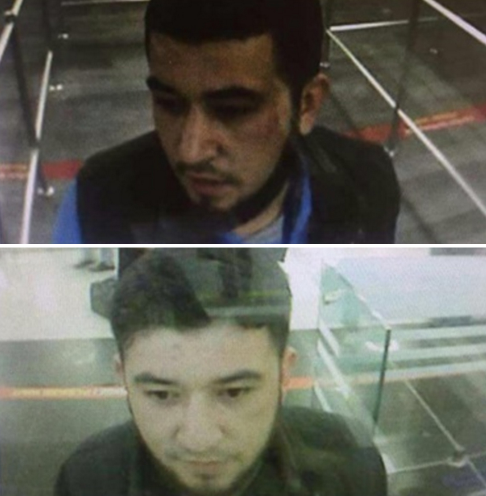 Alleged screenshots of the terrorist from Istanbul Atatürk Airport