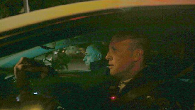 """ליד הנהג: ראש צוות החוקרים תנ""""צ ברנור (צילום: גיל יוחנן) (צילום: גיל יוחנן)"""