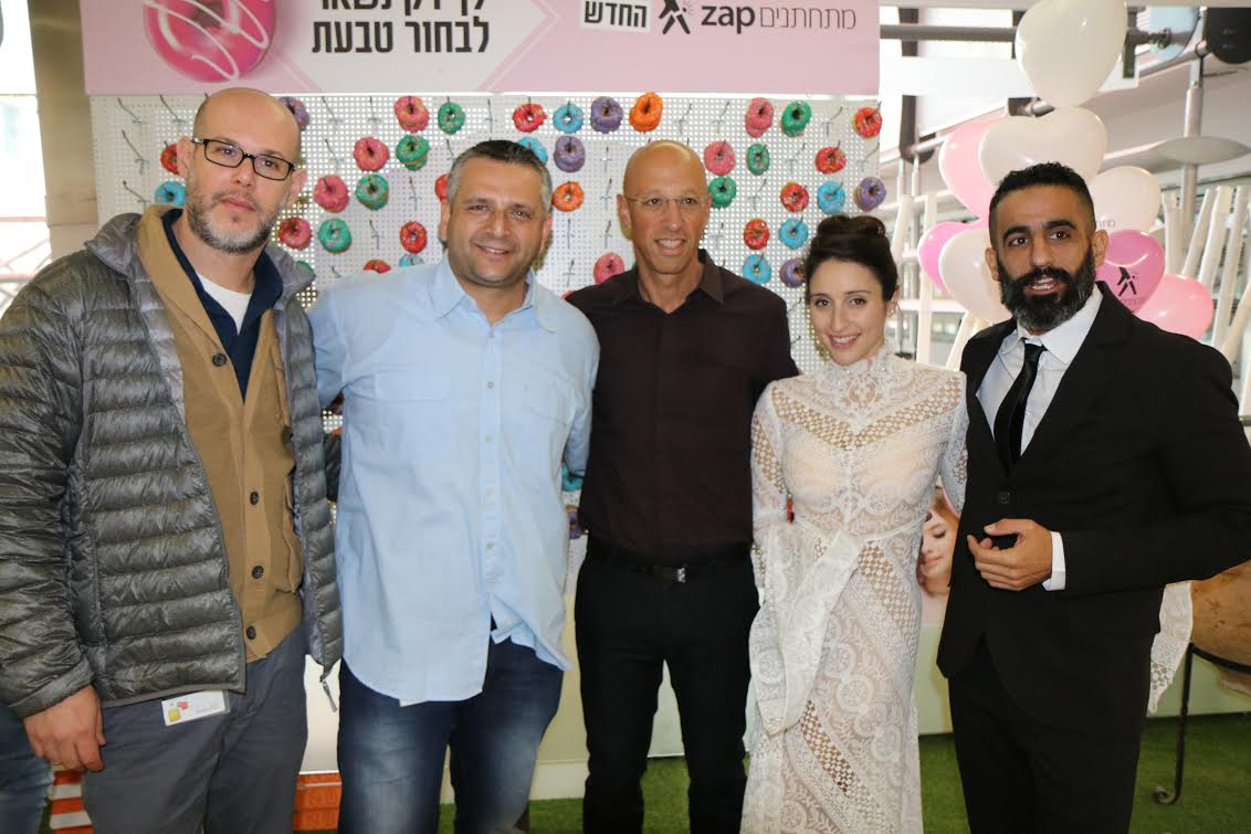 יואב כהן, מאיה שמחי, אילן צחי, שיאל נובוקובסקי ועמית שגיא (צילום: שלומית גולדברג)