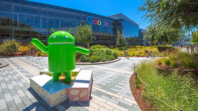 גוגל מצטרפת עם האנדרואיד (אילוסטרציה: Shutterstock)