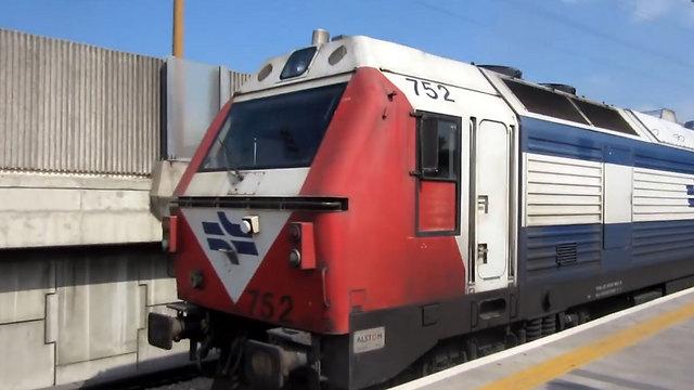 הרכבת מפספסת את האוהדים (צילום: אורי דוידוביץ')