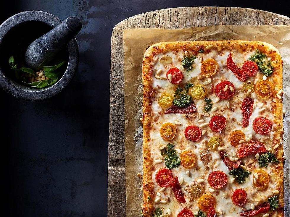 עגבניות פלאנצ'ה, טעימה ומרעננת (צילום: דן פרץ)