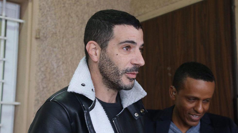 """ח""""כ לשעבר שרון גל הגיע גם כן לבית הדין (צילום: מוטי קמחי) (צילום: מוטי קמחי)"""