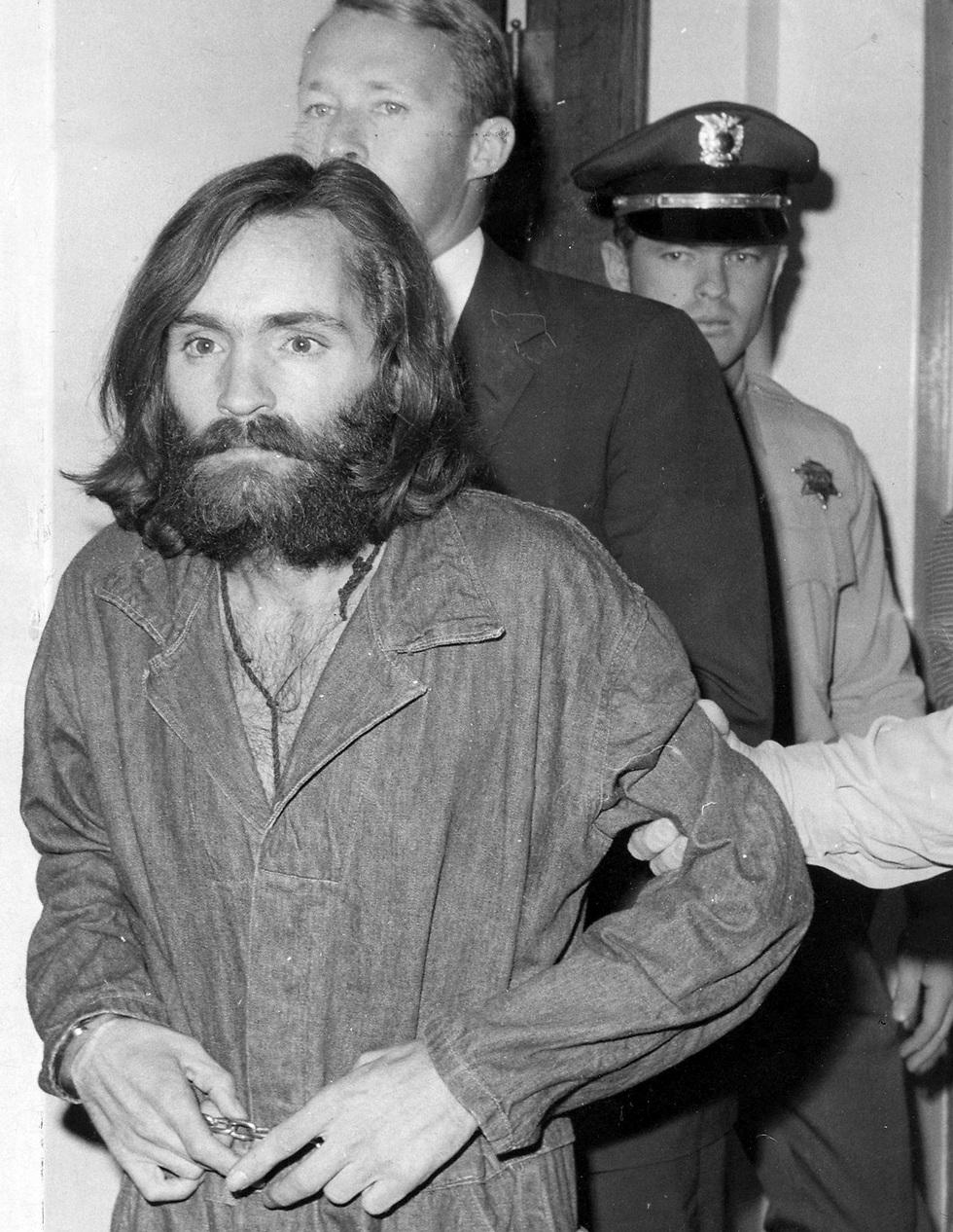 """""""אני אדם מסוכן מאוד"""", אמר מנסון בדיון בנושא שחרורו המוקדם (צילום: MCT) (צילום: MCT)"""