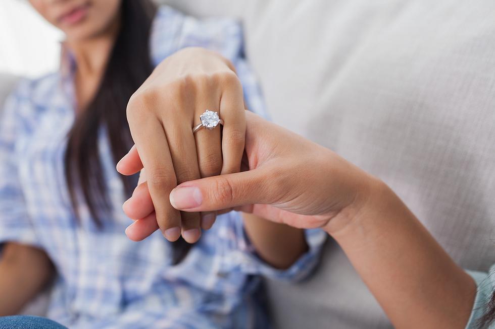 ידעתי שלא כל טבעת תתאים לה (צילום: Shutterstock)
