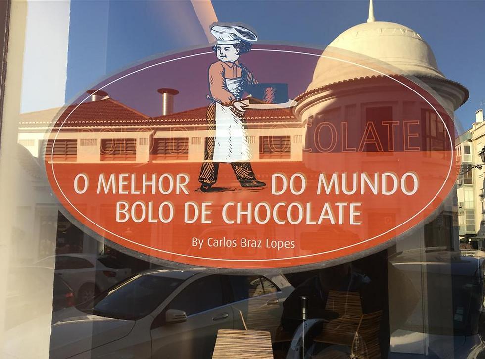 עוגת השוקולד הטובה בעולם - בליסבון ()