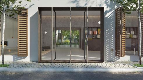 בתוכנית: בניין  של 20 דירות יוקרה במתחם הרב קוק בנווה צדק. לחצו לכתבה המלאה  (הדמיה: סטודיו בונסאי – אורי קיטה)