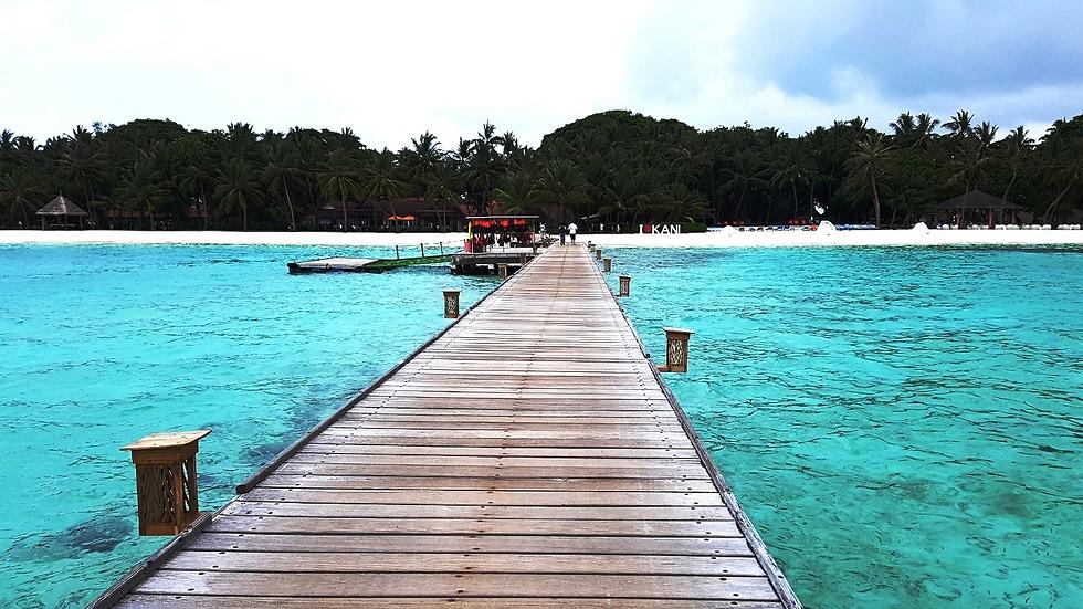 כמו בגלויה: חוף פינולו (finolou) במלדיביים (צילום: עמית קוטלר) (צילום: עמית קוטלר)