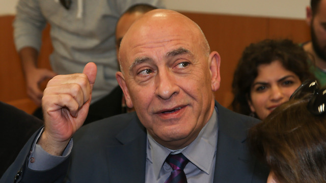 Former MK Ghattas (Photo: Yariv Katz) (Photo: Yariv Katz)