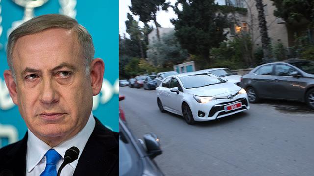 Prime Minister Netanyahu questioned for five hours (Photo: Alex Kolomoisky, EPA)