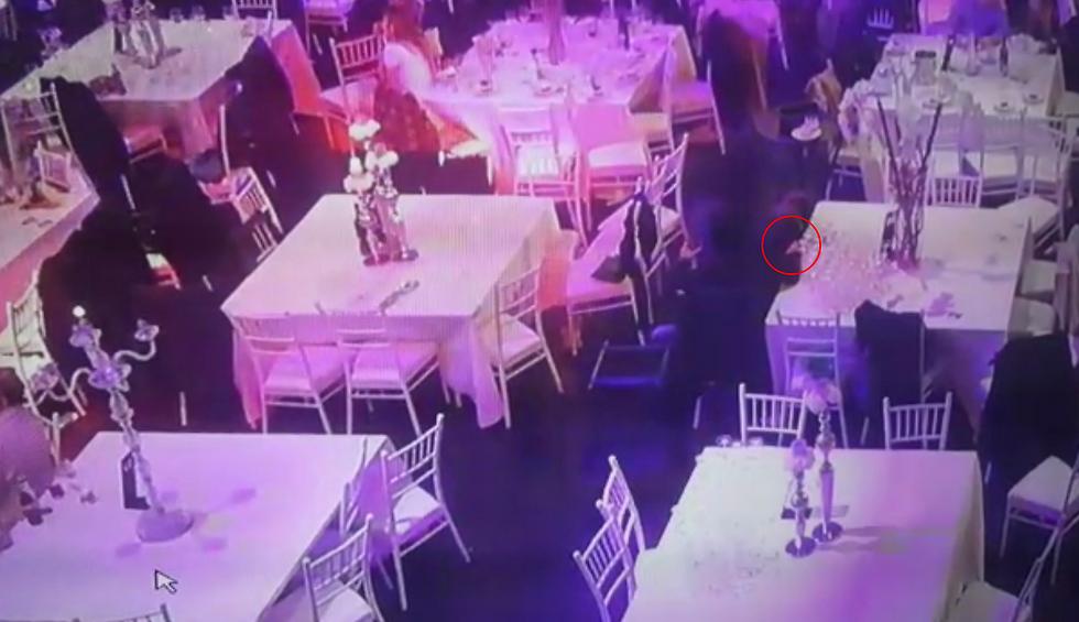 הושיט את ידו, וגנב את הטלפון מהשולחן ()
