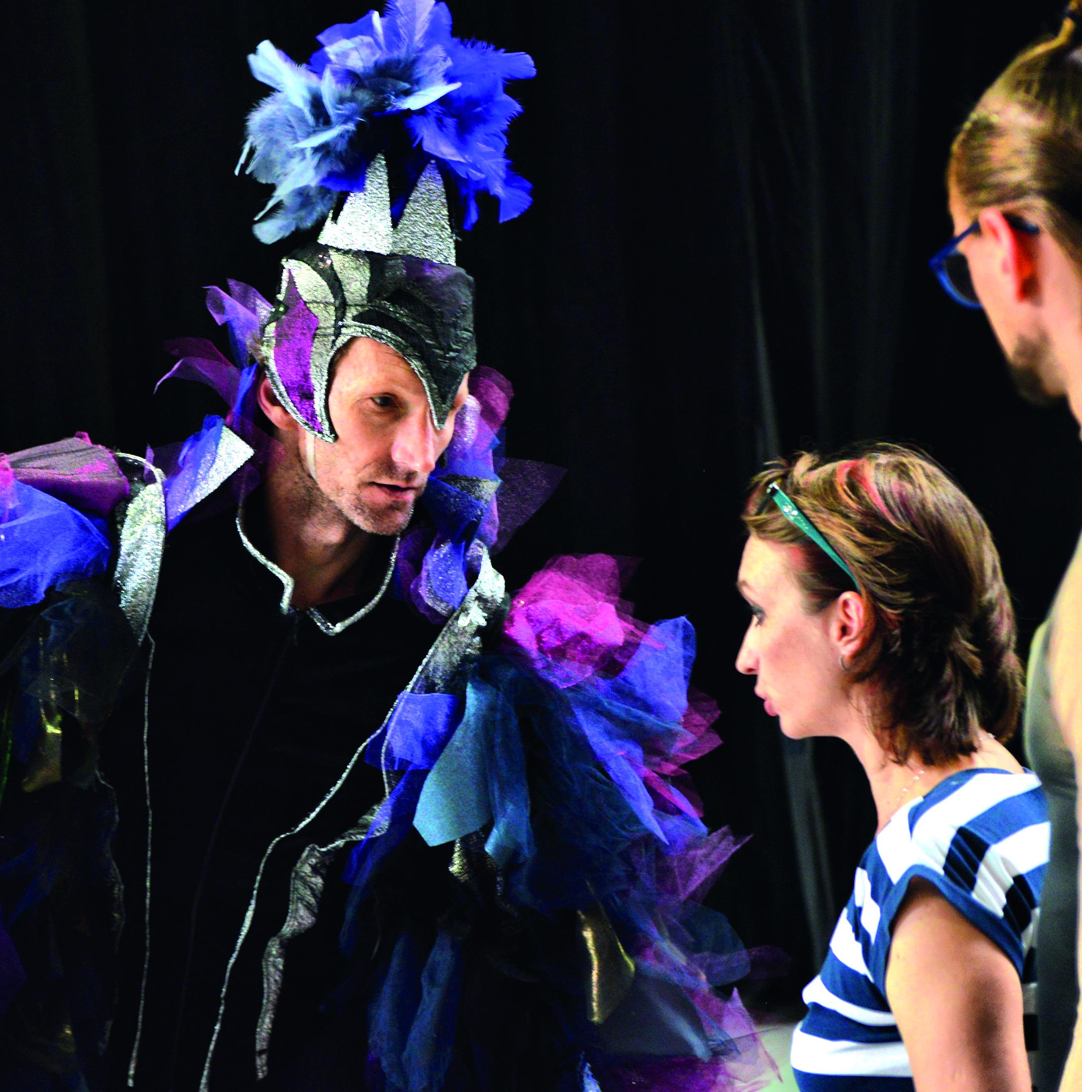 Гершман на репетиции в качестве художественного руководителя Израильского балета.Фото: Лена Запасская