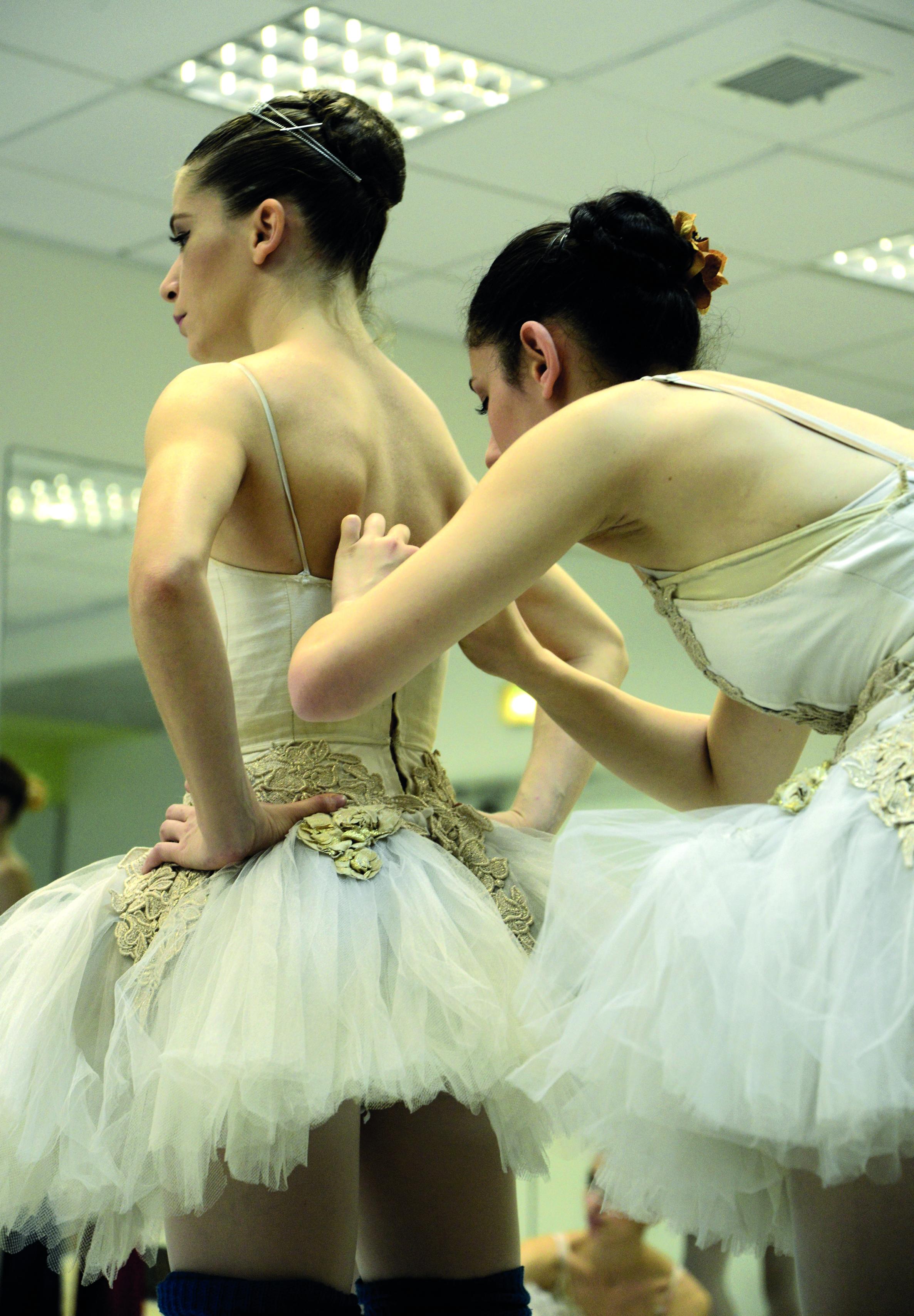 Израильский балет на репетиции. Фото: Лена Запасская