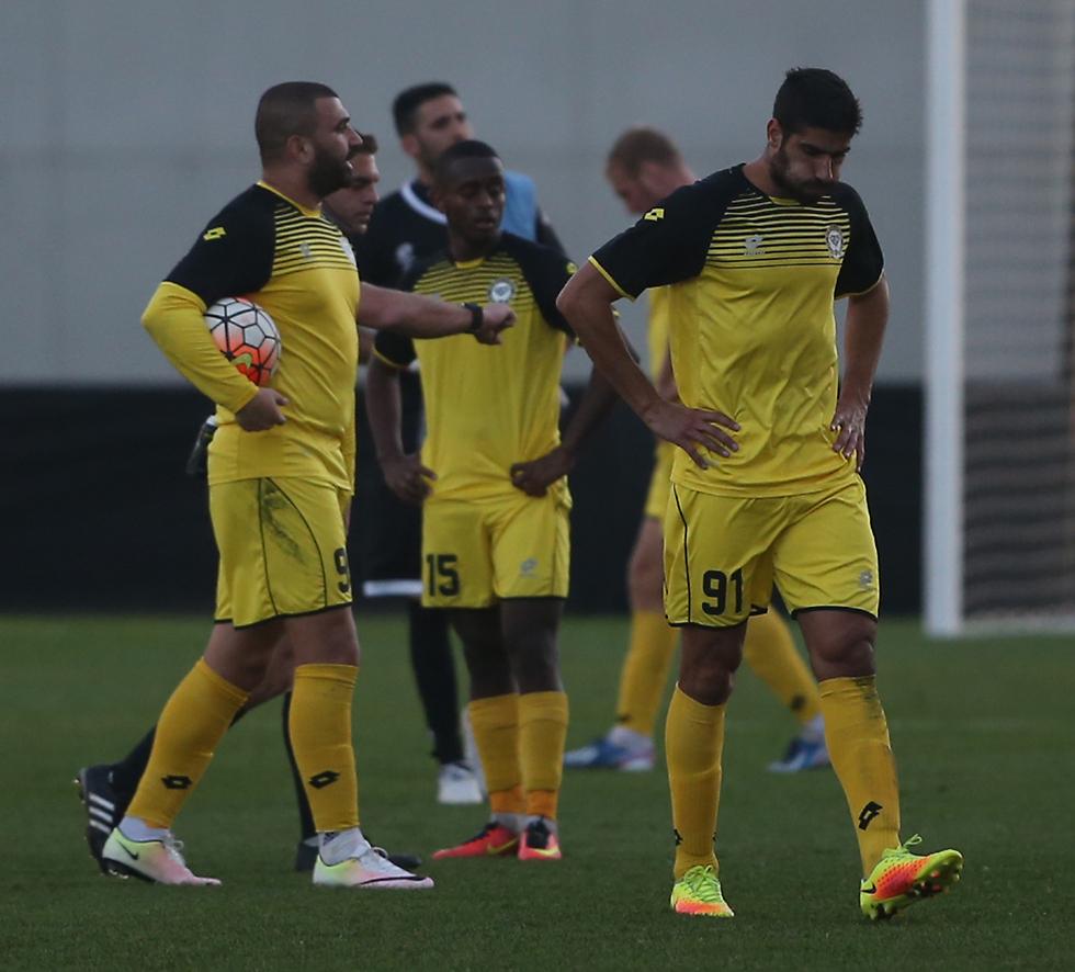 """לוי. """"הכל יכול לקרות בכדורגל"""" (צילום: אורן אהרוני) (צילום: אורן אהרוני)"""