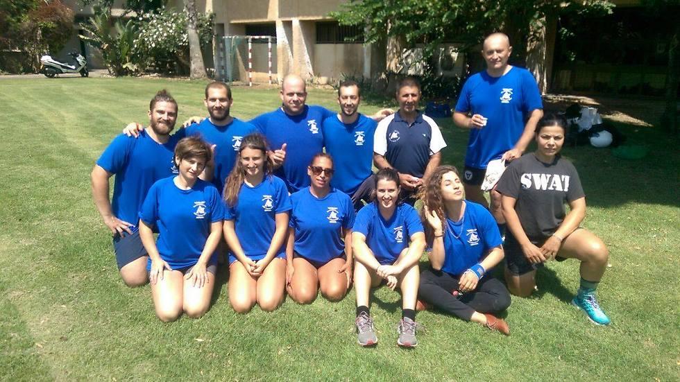 הגיע הזמן להכיר: נבחרת ישראל במשיכת חבל (צילום: פרטי) (צילום: פרטי)