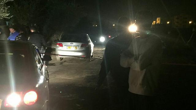 זירת הירי בכפר ג'לג'וליה ()