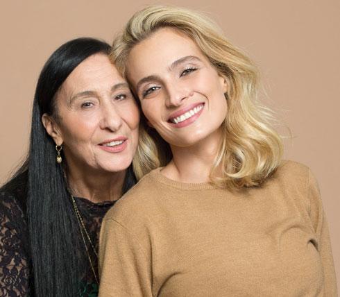 """אילנית ושרה לוי. """"הטרגדיה הכי גדולה של חיי נתנה לאמא שלי מתנה, חיים חדשים"""" (צילום: זוהר שטרית)"""