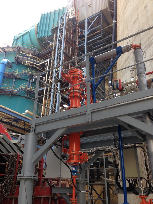 המתקן של מרקורימובל בתחנת כוח ()