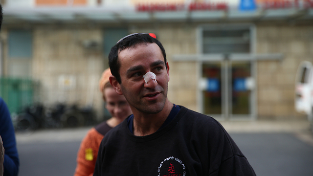 Eitan Rond, who claims he shot the atacker (Photo: Ohad Zwigenberg)