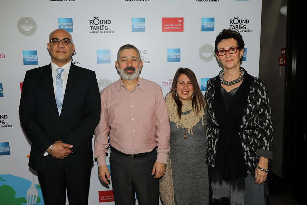 אירית בטאט, רון ואלכס אברבוך, אמג'אד עסאף (צילום: רפי דלויה)