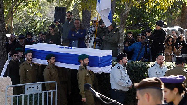 הלווייתה של חג'אג' בירושלים, היום (צילום: AFP) (צילום: AFP)