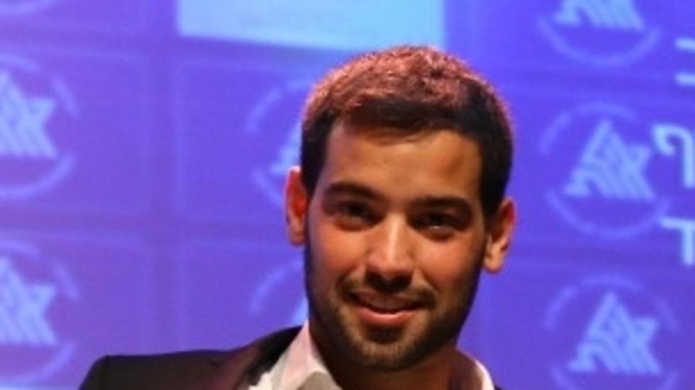 מאמן השנה עמרי בן נתן (צילום: התאחדות אילת)