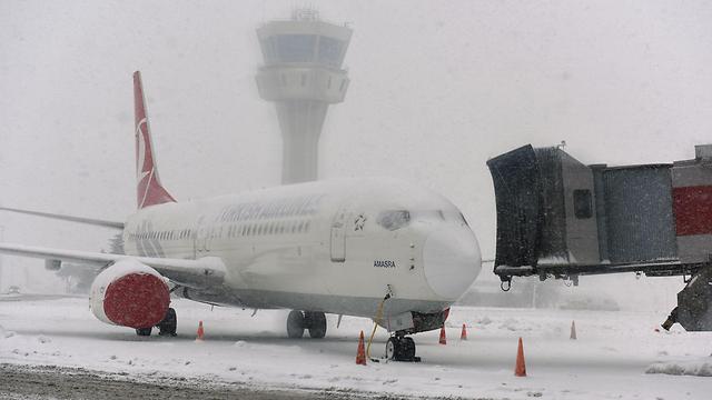 נמל התעופה אטאטורק באסטנבול, היום (צילום: AFP) (צילום: AFP)