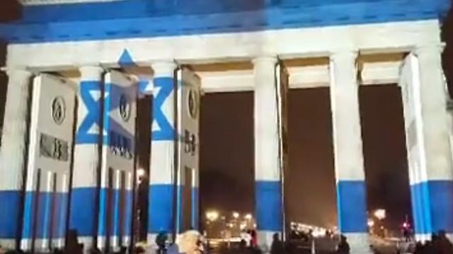 שער ברנדנבורג בברלין, אמש ()