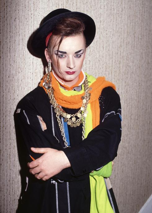 הפך לאייקון אופנה בימים שבהם מיניות מעורפלת היתה עניין מרעיש. 1984 (צילום: rex/asap creative)