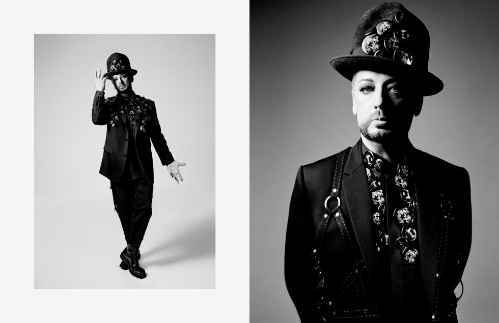 """""""בוי ג'ורג' היה הראשון שהציג את המסר שזה בסדר להיות שונה, להיות אחר"""". קמפיין אביב-קיץ 2017 של Dior Homme"""