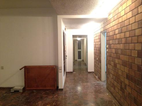 הדירה לפני השיפוץ (צילום: אושיר אסבן)