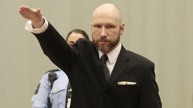Anders Behring Breivik (Photo AFP)