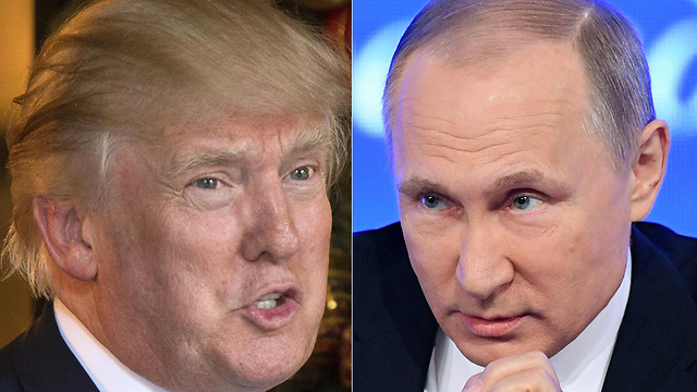 Trump (L) and Putin (Photos: AFP)