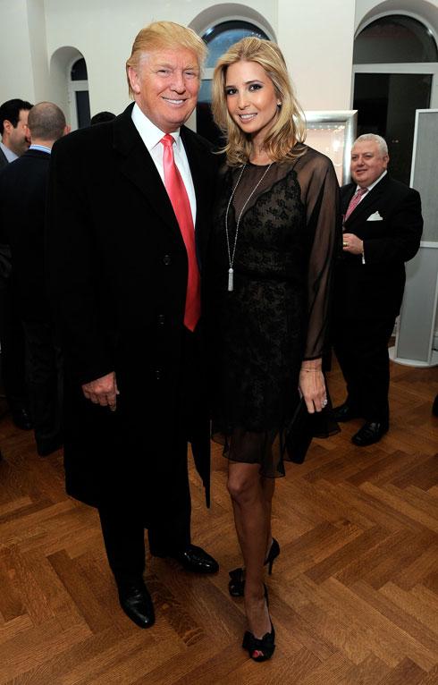 """טראמפ: """"אם איוונקה לא היתה בתי, הייתי יוצא איתה"""" (צילום: Gettyimages)"""