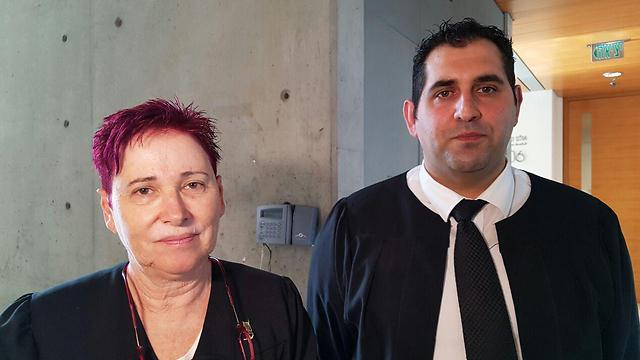 סנגוריו של אסו סיאם, עורכי הדין שאדי סעוג'י ותמי אולמן