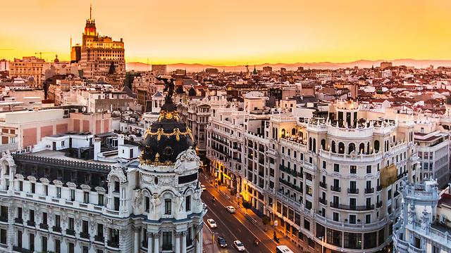 מבט על היעד החם של השנה: מדריד, ספרד (צילום: shutterstock)