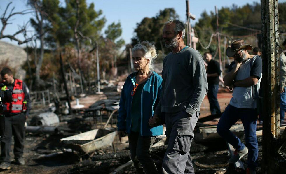 אזור המסעדה לאחר השריפה הקטלנית (צילום: אוהד צויגנברג) (צילום: אוהד צויגנברג)
