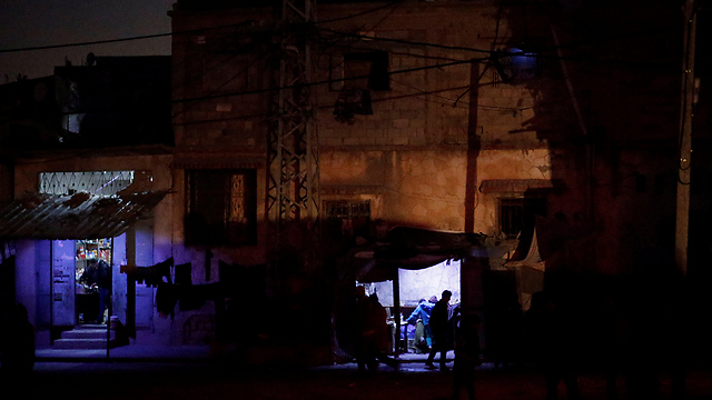 Power outage in Gaza (Photo: Reuters)