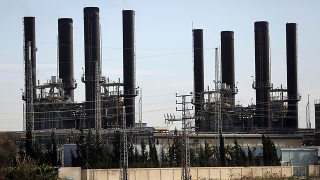 Gaza power plant (Photo: AP)