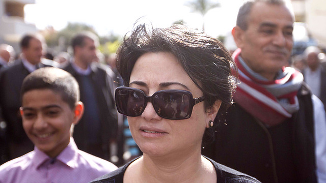 MK Hanin Zoabi (Photo: Ido Erez)