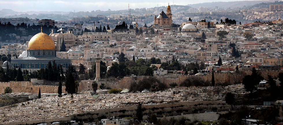 Returning the annexed Palestinian villages and neighborhoods to the area designated for Palestine, as the basis for Palestinian Jerusalem, is the solution Israel should propose to Trump (Photo: AFP)