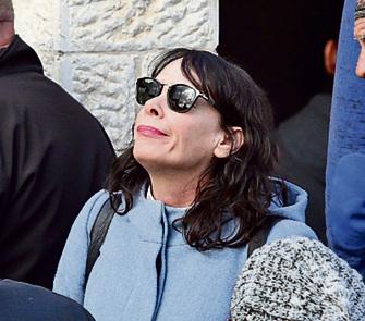 השחקנית אורלי זילברשץ, גרושתו של יובל בנאי