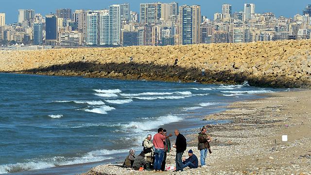 העיר ביירות (צילום: EPA)